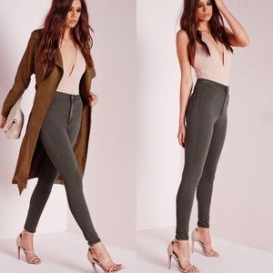 Missguided Super High Waisted Skinny Jean
